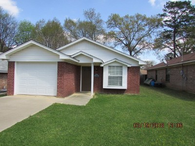 Longview TX Single Family Home For Sale: $109,900