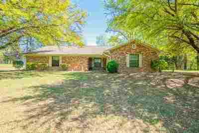 Gilmer Single Family Home For Sale: 3652 Fm 2263