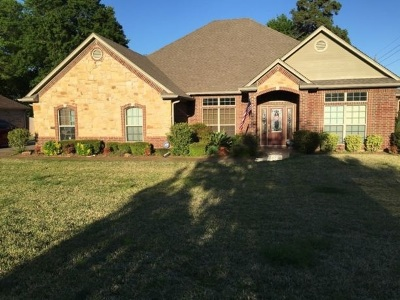 Longview Single Family Home For Sale: 3800 Clarkway Place