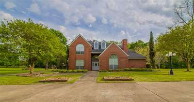 Longview Single Family Home For Sale: 4010 Willow Bend