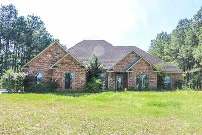 Gilmer Single Family Home For Sale: 3514 Fm 726 South