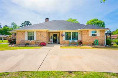 Gladewater Single Family Home For Sale: 1401 W Lake Drive