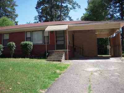 Longview TX Single Family Home For Sale: $72,000