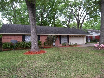 Carthage Single Family Home For Sale: 1123 Oakwood Dr