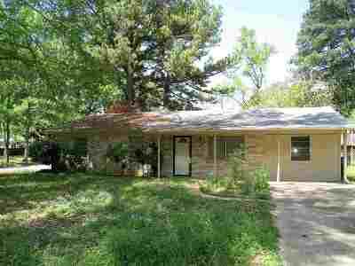 Longview TX Single Family Home For Sale: $111,500