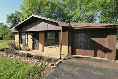Gladewater TX Single Family Home Active, Cont Upon Loan Ap: $74,500