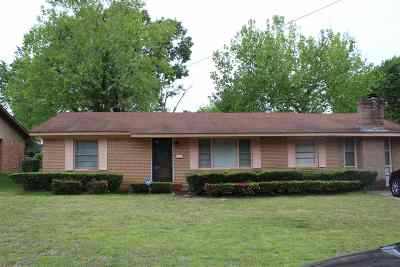 Longview TX Single Family Home For Sale: $84,500