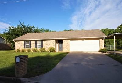 Longview TX Single Family Home For Sale: $154,900