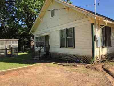 Marshall Single Family Home For Sale: 317 Nesbitt Cemetery Rd