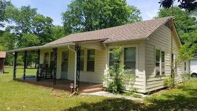 Gladewater TX Single Family Home For Sale: $72,000