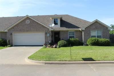 Longview TX Condo/Townhouse For Sale: $183,500