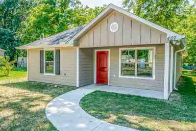 Longview TX Single Family Home For Sale: $129,000