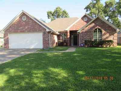 Longview TX Single Family Home For Sale: $220,000