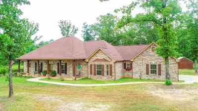 Gilmer Single Family Home For Sale: 107 Osage Drive