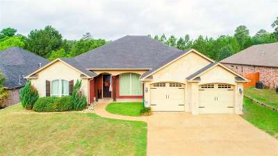 Longview Single Family Home For Sale: 323 Bridgers Hill