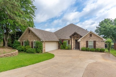 Single Family Home For Sale: 2001 Oak Forest Country Club Dr