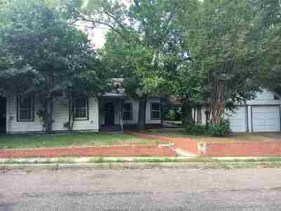 Gladewater TX Single Family Home For Sale: $38,500