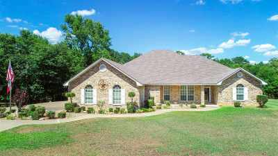 Hallsville Single Family Home For Sale: 220 Timberlake Ranch Road
