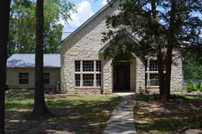 Hallsville Single Family Home For Sale: 323 Private Road 3446