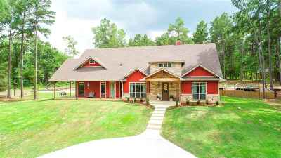 Gilmer Single Family Home Active, Option Period: 1825 Fawn Crossing Road