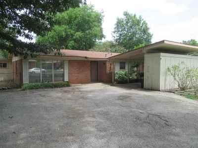 Longview TX Single Family Home For Sale: $92,500