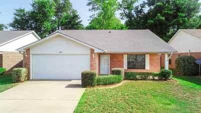 Longview TX Single Family Home For Sale: $132,900