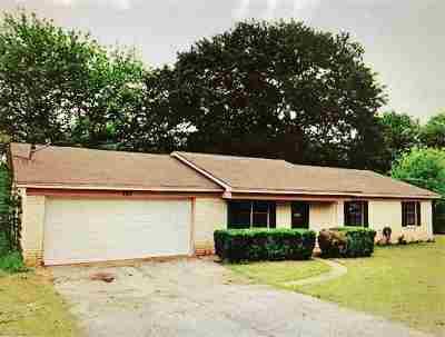 Longview TX Single Family Home For Sale: $109,000