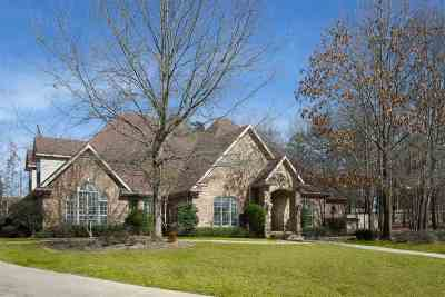 Gregg County Single Family Home For Sale: 1 Sandy Creek