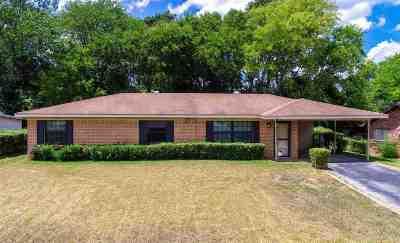 Longview TX Single Family Home For Sale: $89,900
