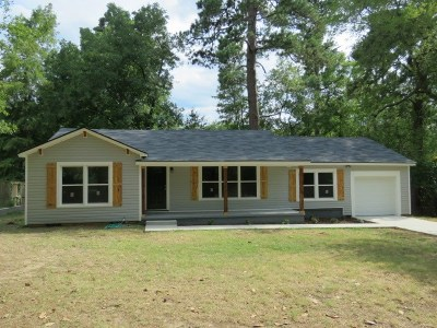 Longview TX Single Family Home For Sale: $161,250