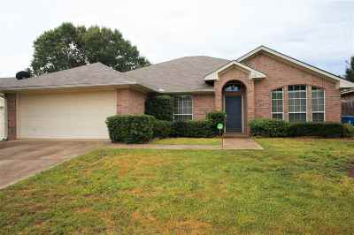 Kilgore Single Family Home For Sale: 1604 Amanda Ln