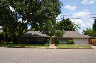 Longview TX Single Family Home For Sale: $205,000