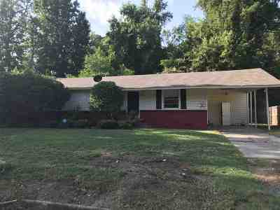 Longview TX Single Family Home For Sale: $65,000