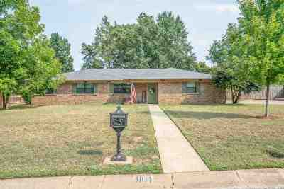 Kilgore Single Family Home Active, Cont Upon Loan Ap: 3104 Inwood Road