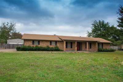 Kilgore Single Family Home For Sale: 4418 Fm 1252