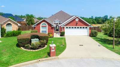 Longview Single Family Home For Sale: 1600 Valley Brook