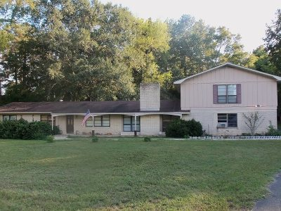Kilgore Single Family Home For Sale: 3674 Fm 1249e