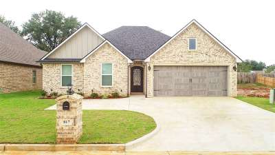 Longview Single Family Home For Sale: 817 Gemi Dr.