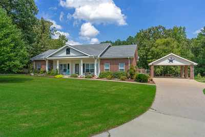 Longview Single Family Home For Sale: 199 Lasiter Road