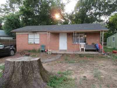 Longview TX Single Family Home For Sale: $65,000