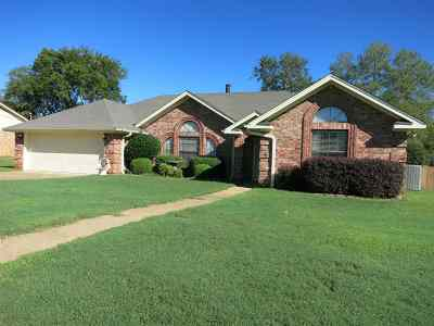 Longview TX Single Family Home For Sale: $169,500