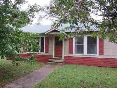 Hallsville Single Family Home For Sale: 204 N Plum