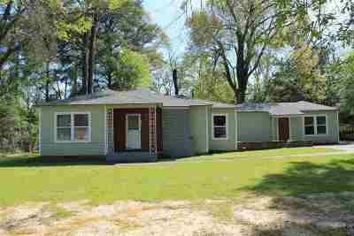 Longview TX Single Family Home For Sale: $68,900