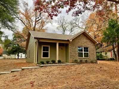 Gladewater TX Single Family Home For Sale: $125,000