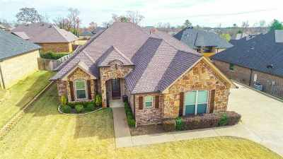 Longview TX Single Family Home For Sale: $338,999