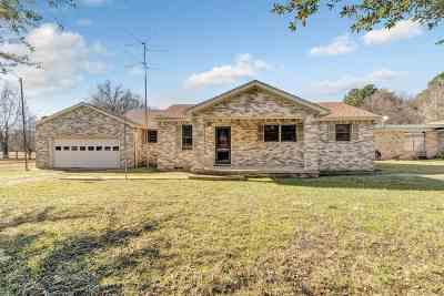 Kilgore Single Family Home For Sale: 3507 Fritz Swanson