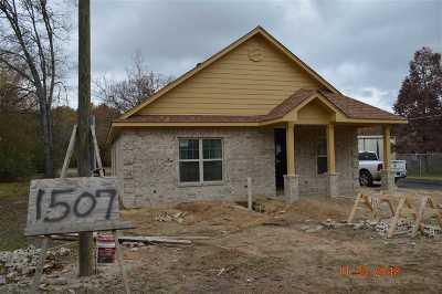 Longview TX Single Family Home For Sale: $140,000