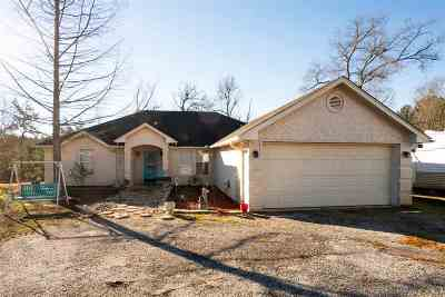 Gladewater TX Single Family Home For Sale: $165,900