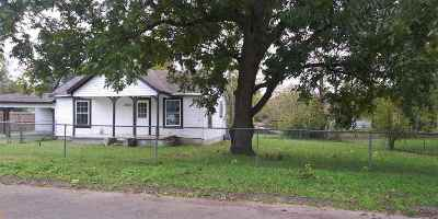 Gladewater TX Single Family Home For Sale: $55,000