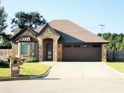 Hallsville Single Family Home Active, Option Period: 111 Fredricksburg Cir